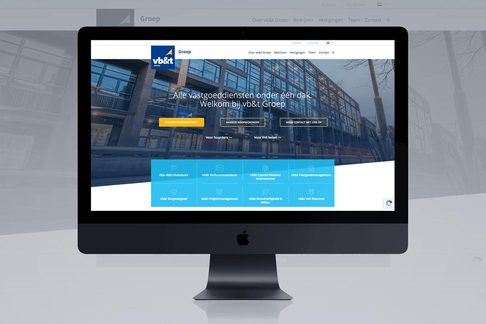 Website vb&t Groep