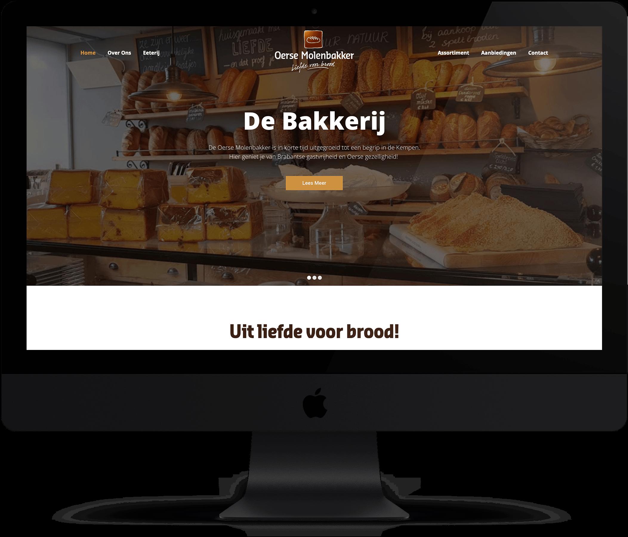 Website Oerse Molenbakker