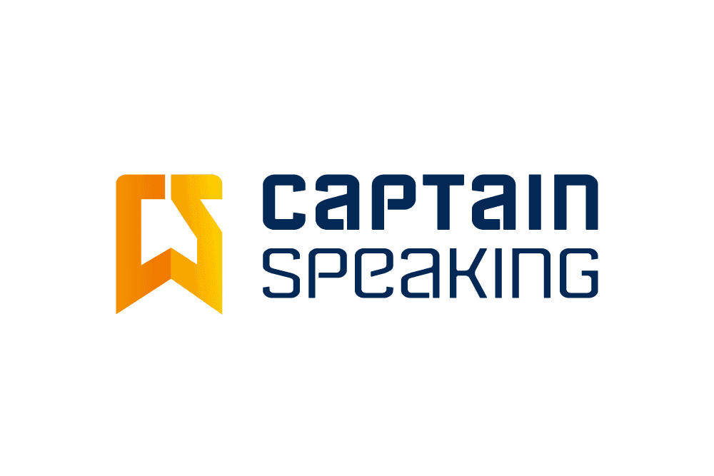 Logo Captain Speaking