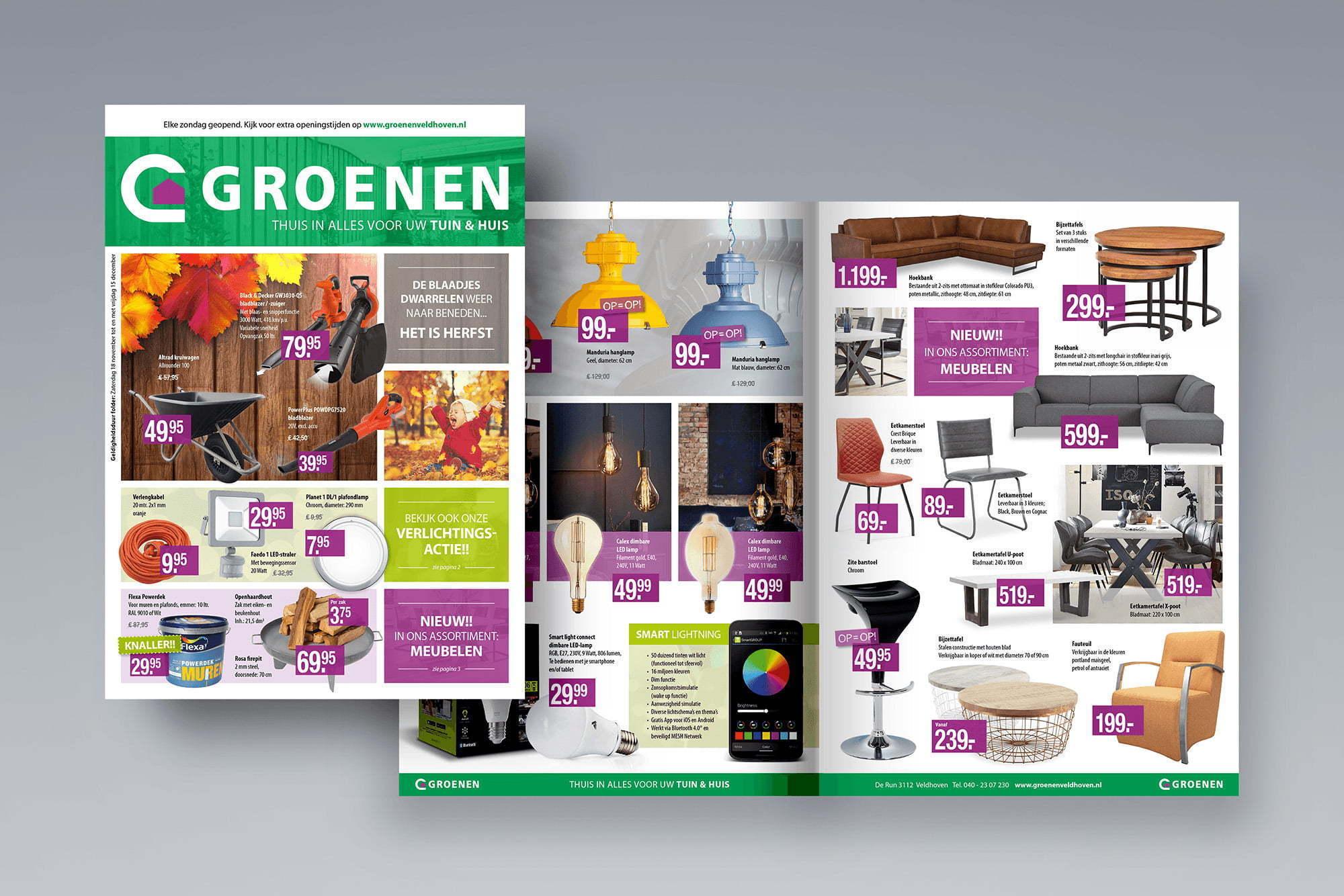 Brochure Bouwmarkt Groenen