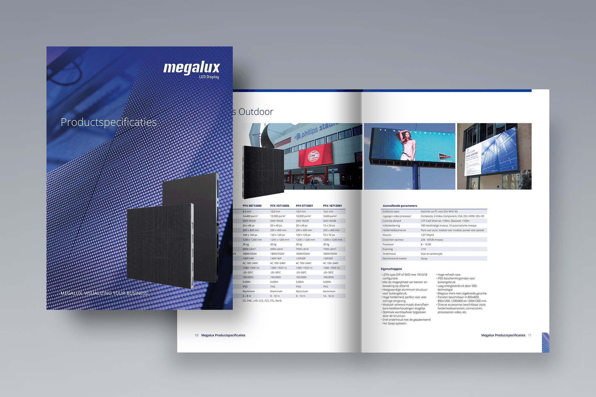 Brochure - Productspecificaties Megalux