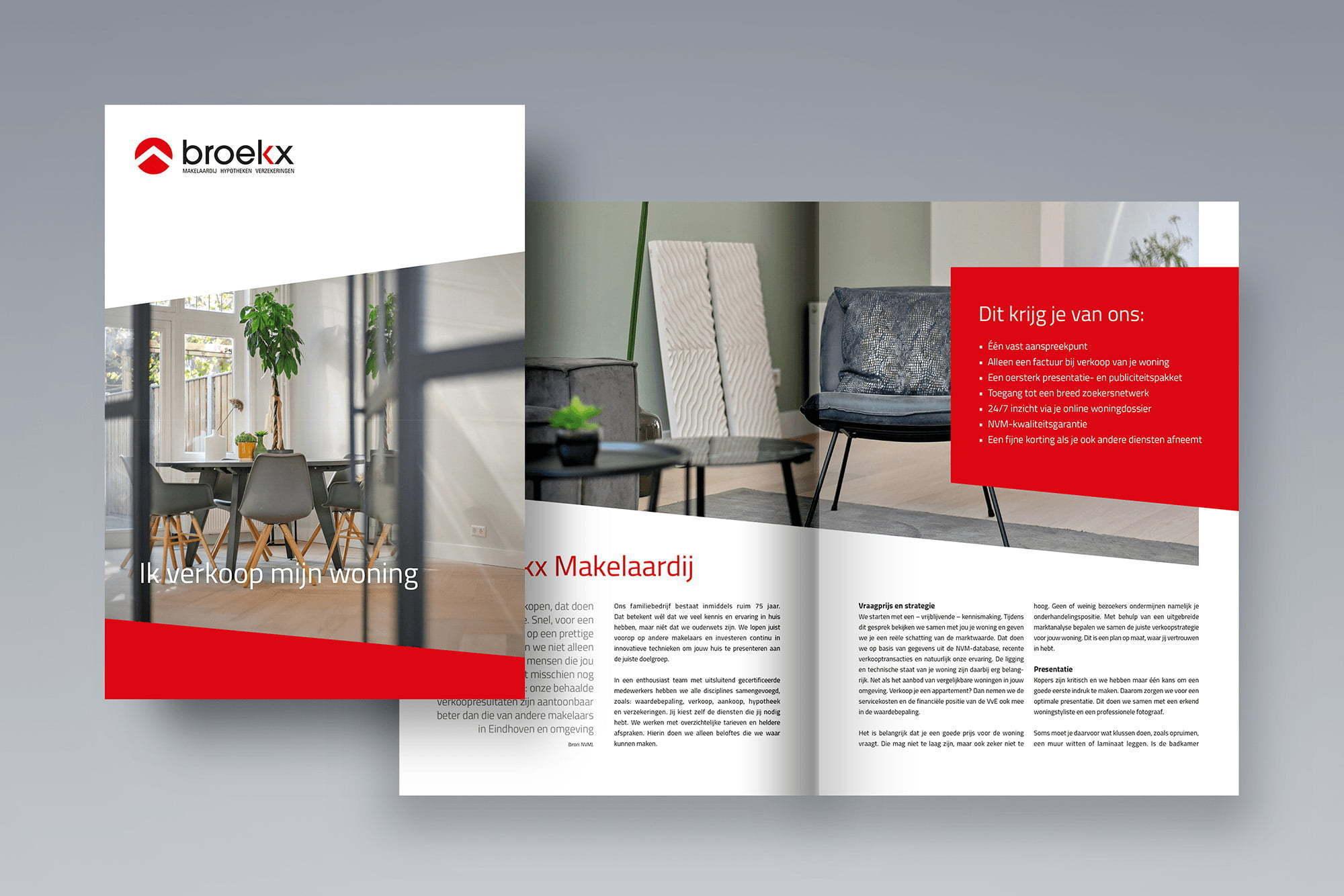 Verkoopbrochure Broekx Makelaardij