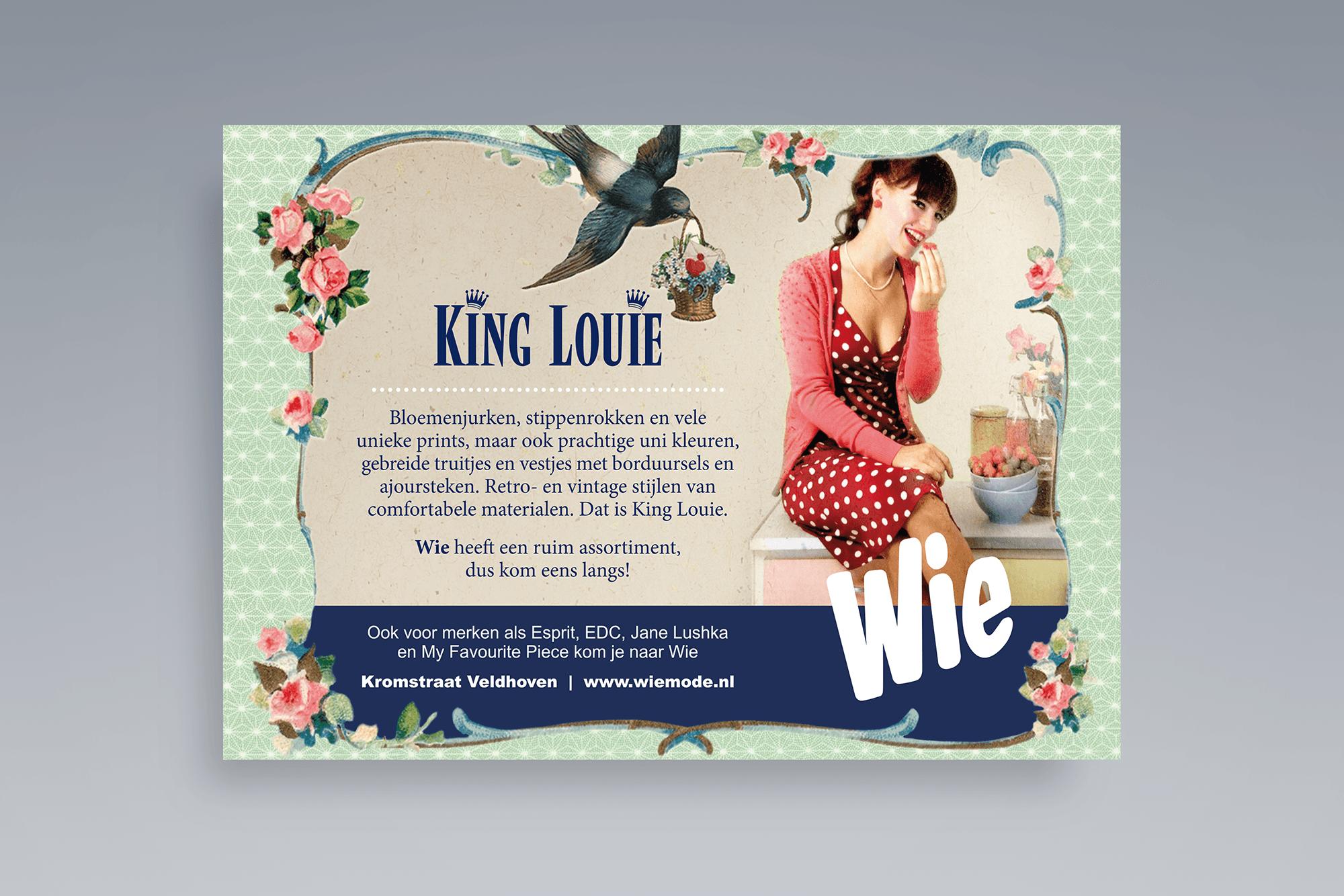 Advertentie Wie Mode - King Louie