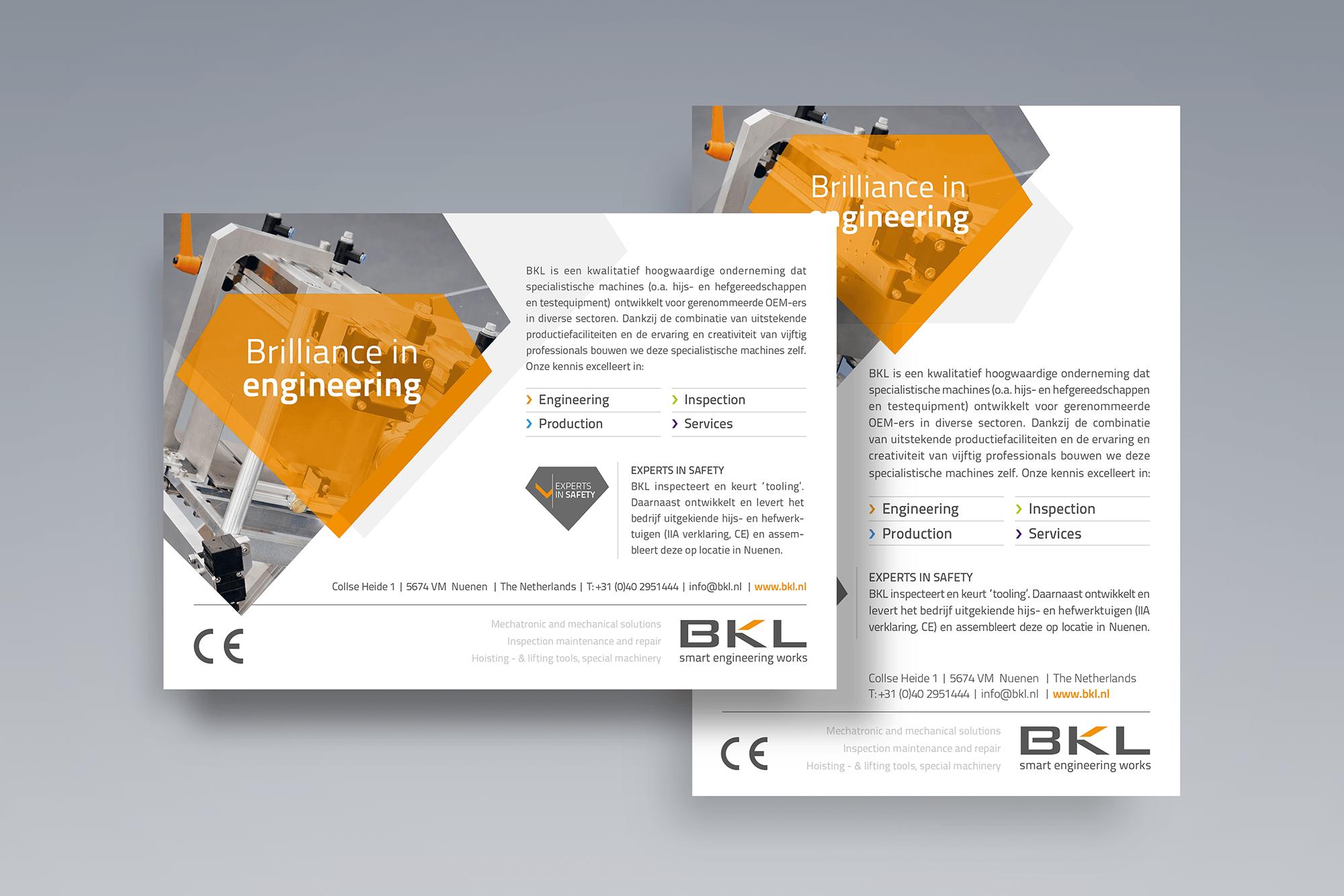 Advertenties BKL Engineering