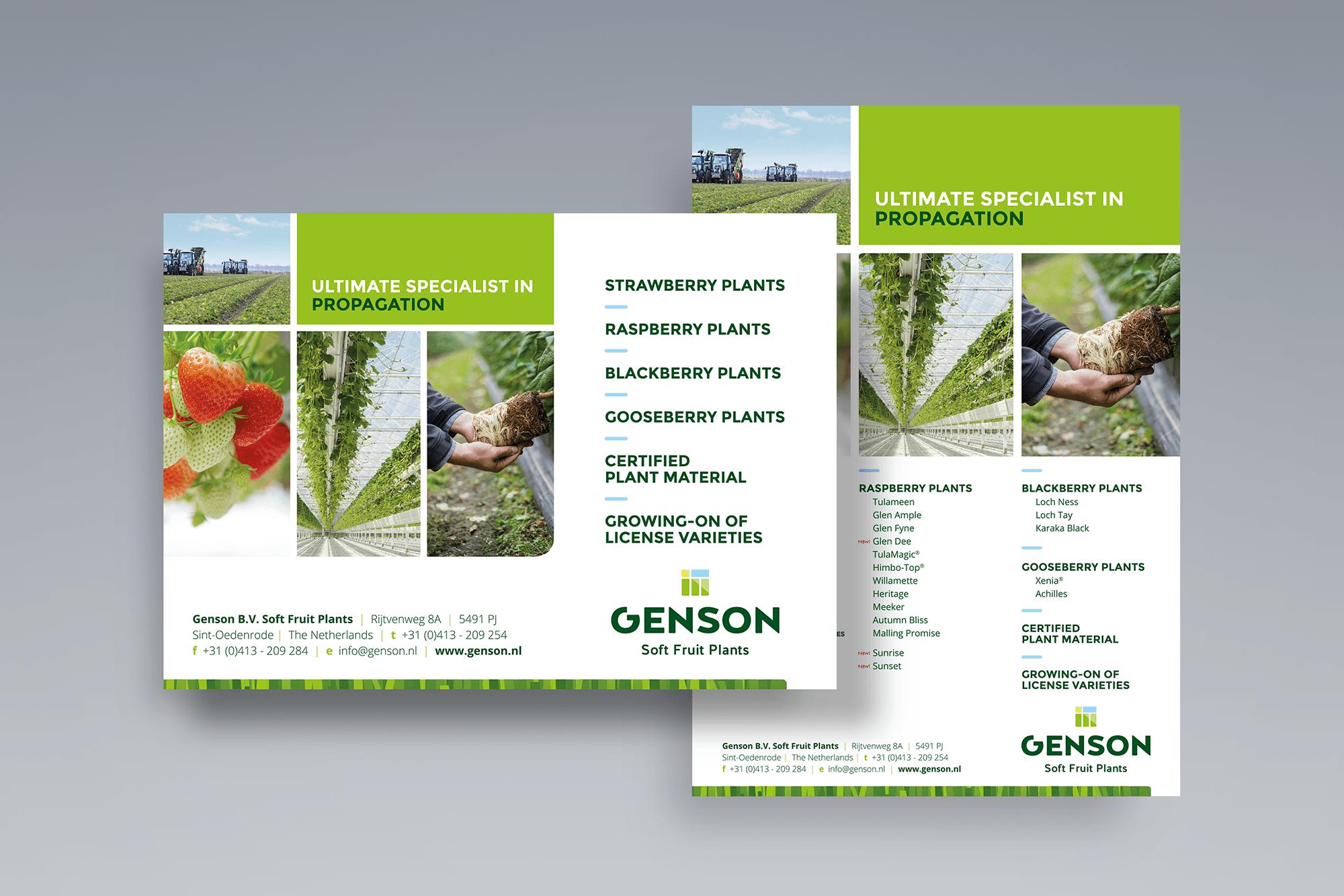 Advertenties Genson