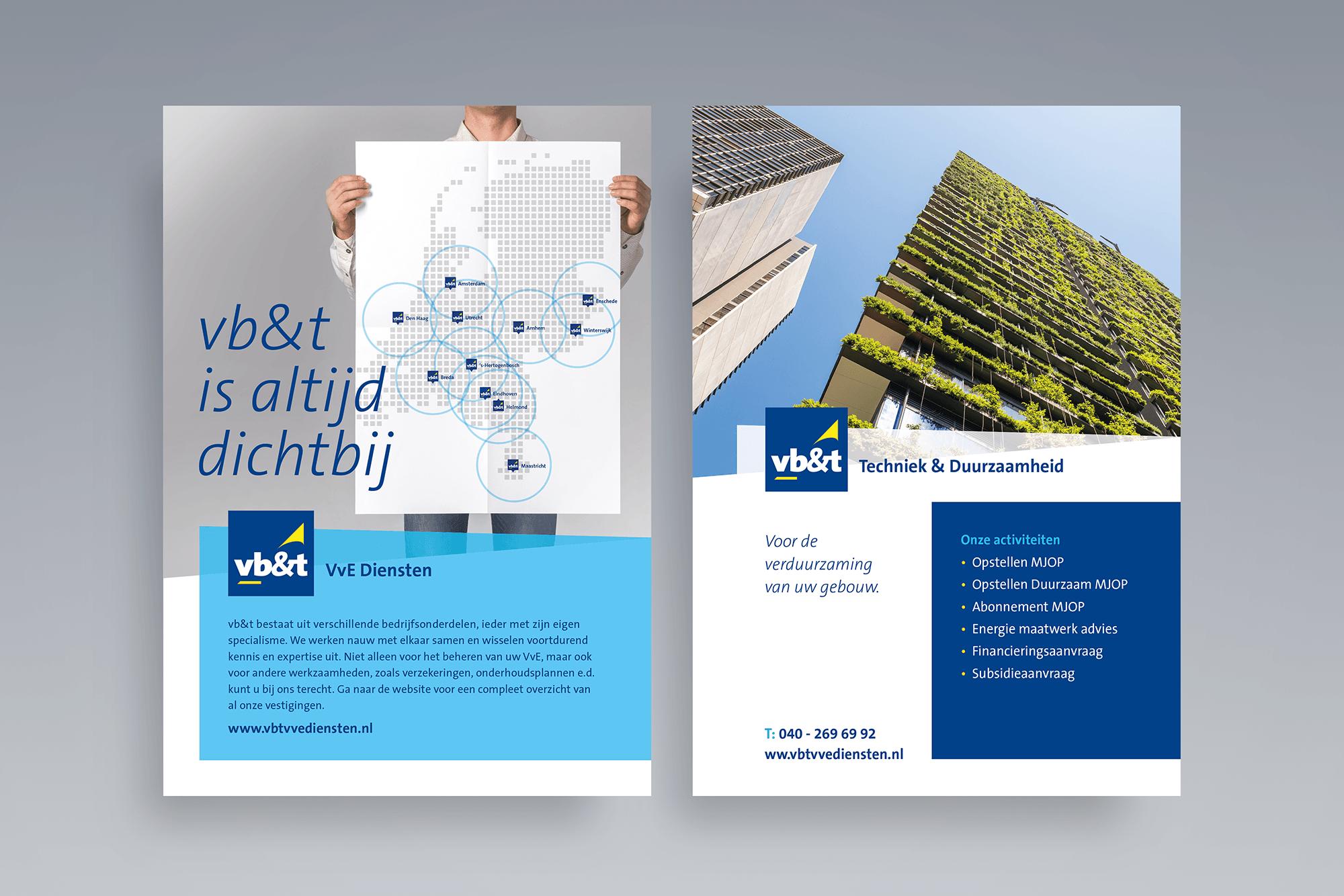 Flyer vb&t VvE Diensten - Techniek & Duurzaamheid