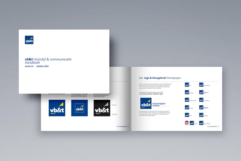 Huisstijl & Communicatie handboek - vb&t Groep