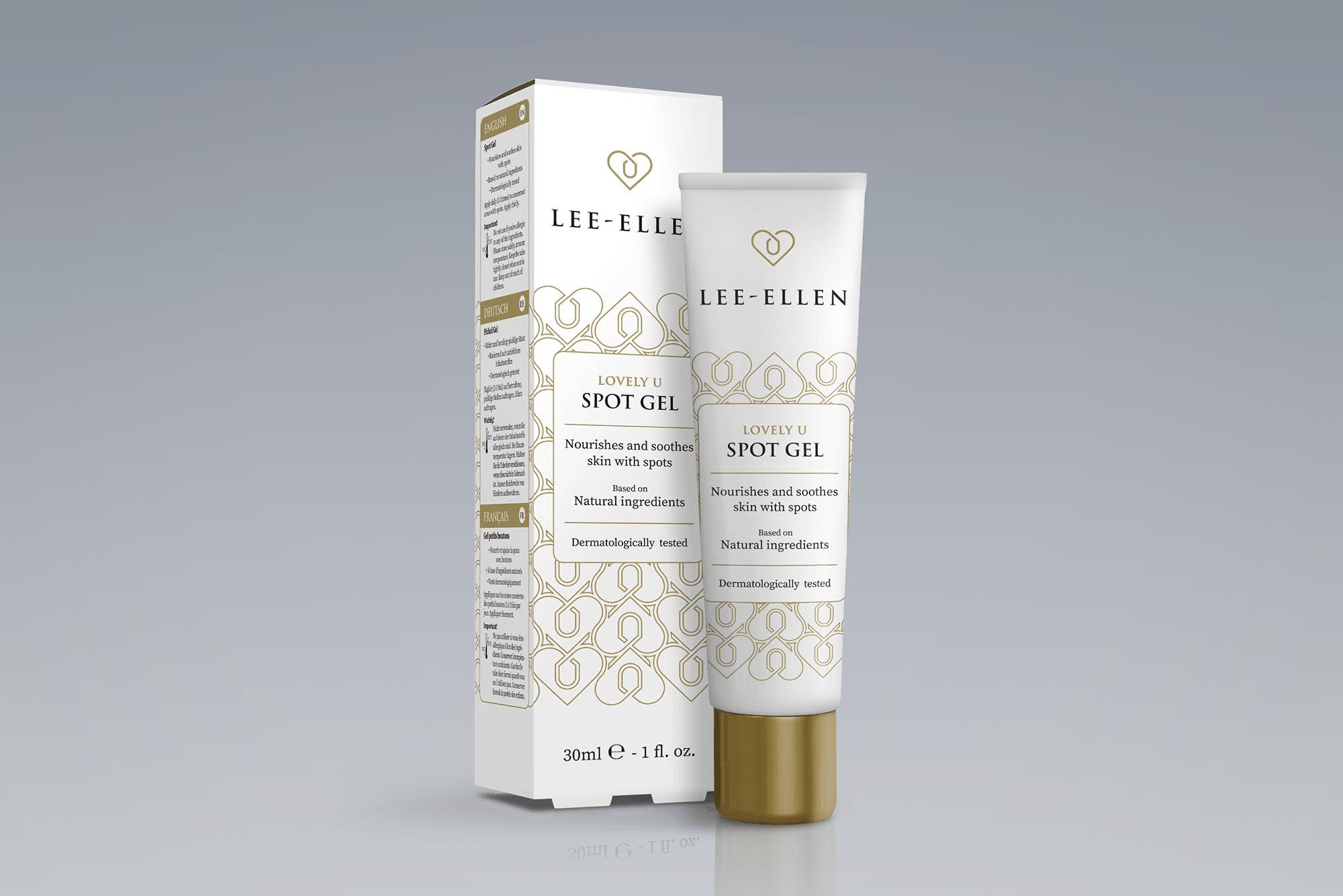 Verpakking Lee-Ellen - Lovely U Spot Gel