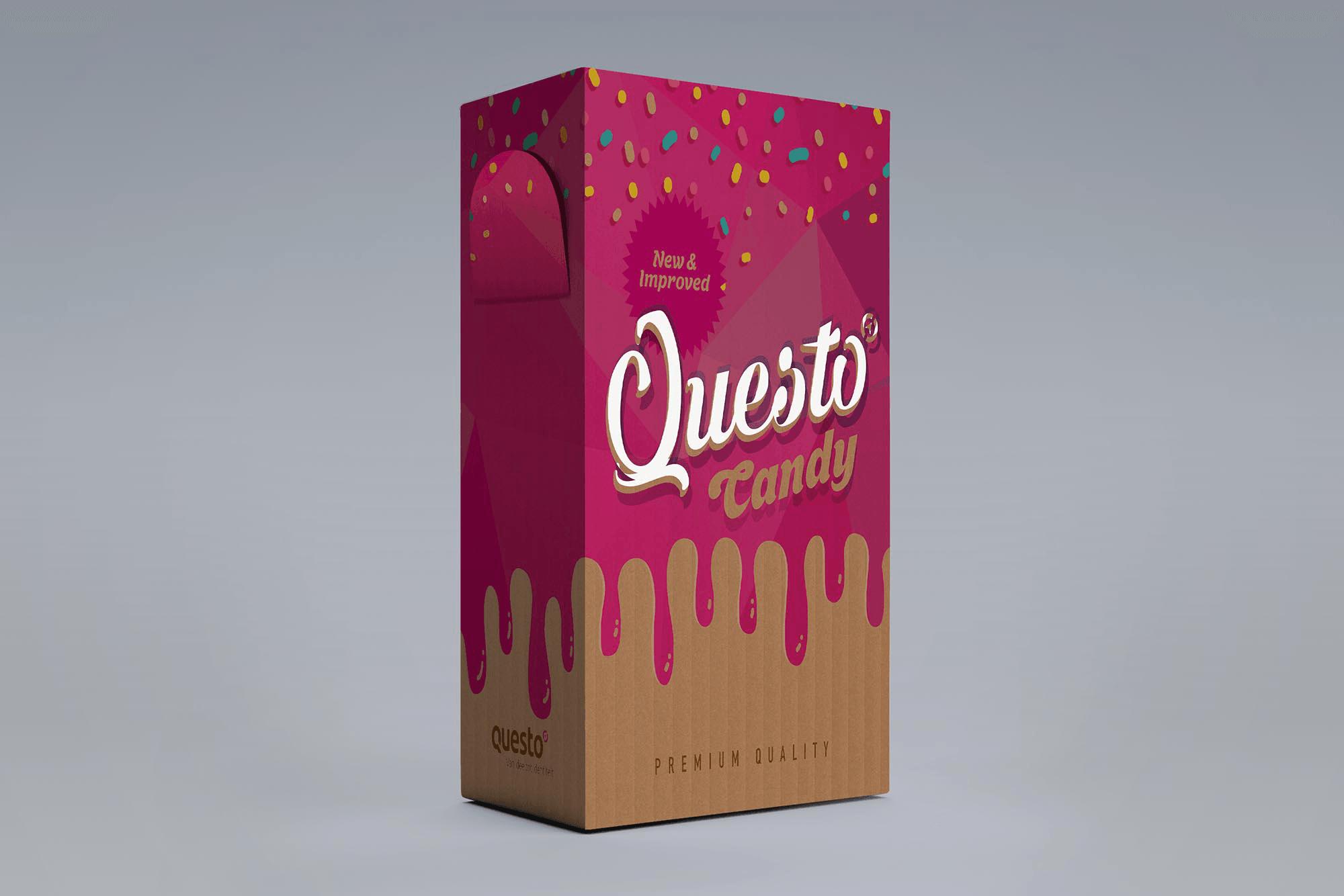 Verpakking Questo Candybox