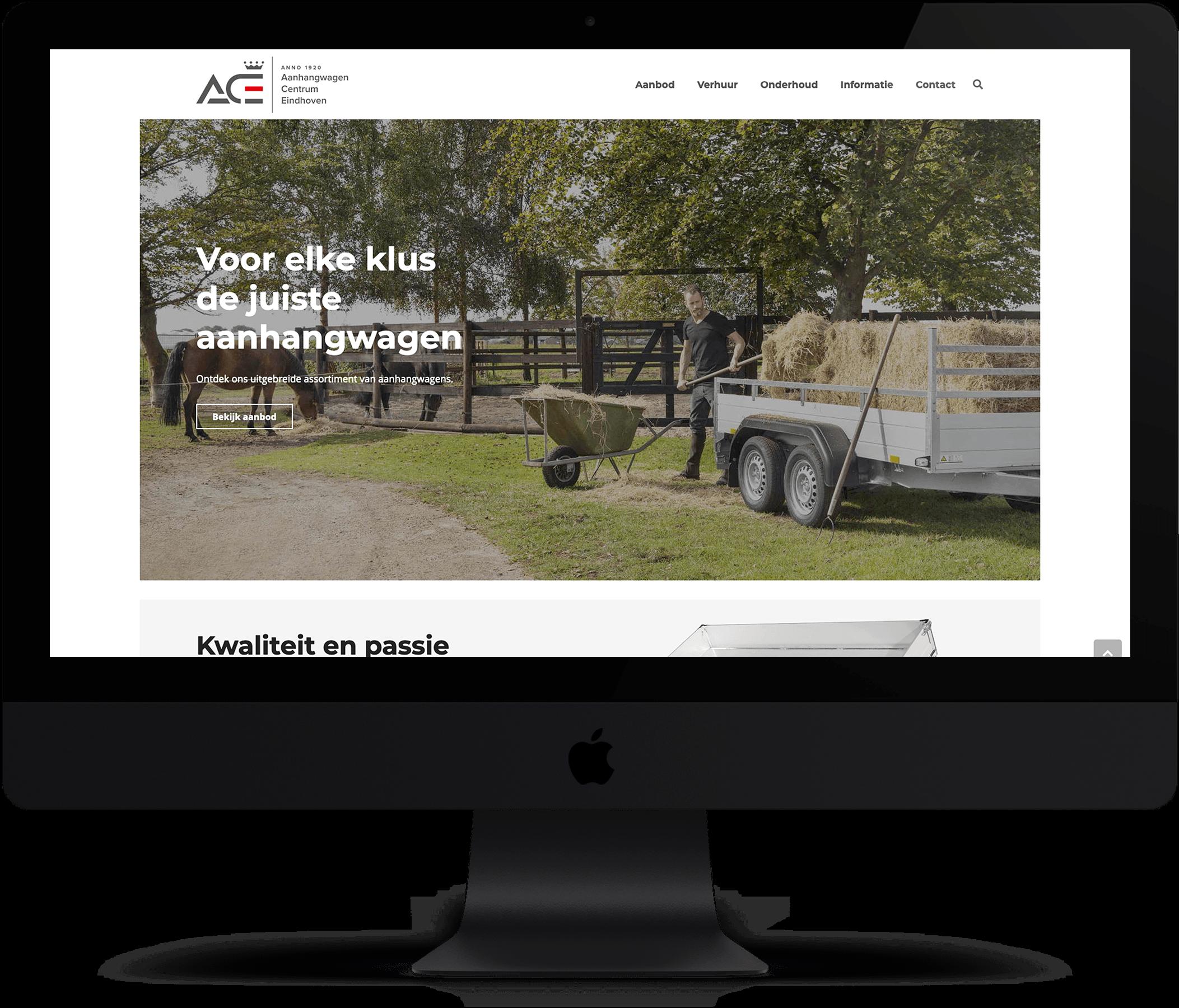 Website Aanhangwagen Centrum Eindhoven