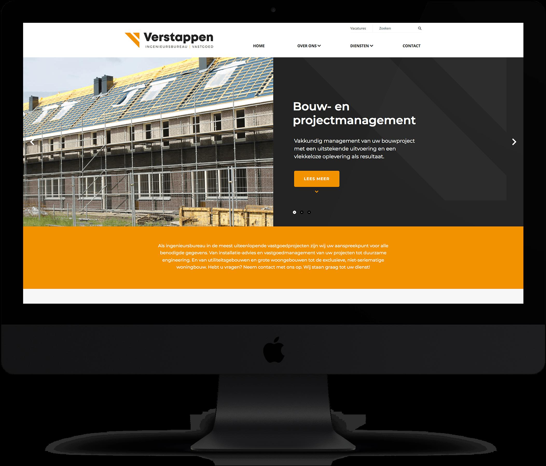 Website Verstappen Engineering